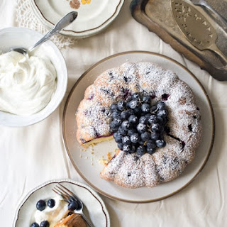 Concord Grape Whipped Cream Cake