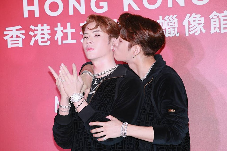 GOT7 Jackson Wang Madame Tussauds