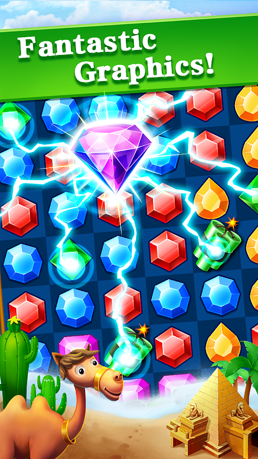 Jewels Legend - Match 3 Puzzle- screenshot