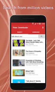 Tube Video Downloader HD - náhled