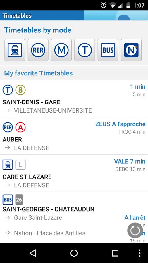Vianavigo- screenshot