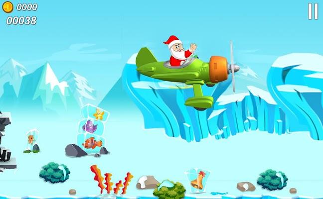 Flying Santa Claus - screenshot