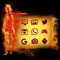 Fire Olympic Theme Rio 2016 icon