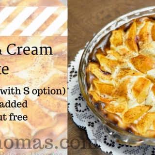 Peaches & Cream Bake.