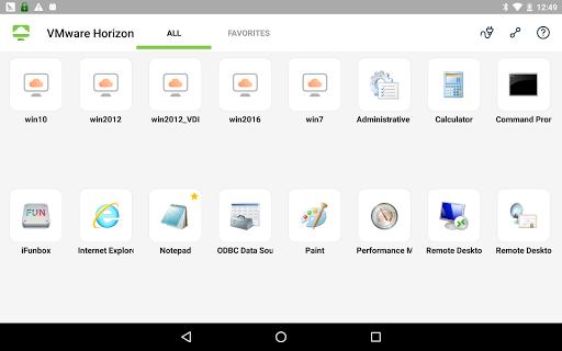 VMware Horizon Client 5.4.1 screenshots 11