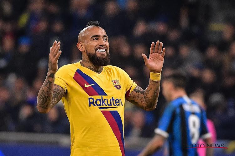 Arturo Vidal va quitter le Barça et rejoindre un Diable Rouge en Serie A !