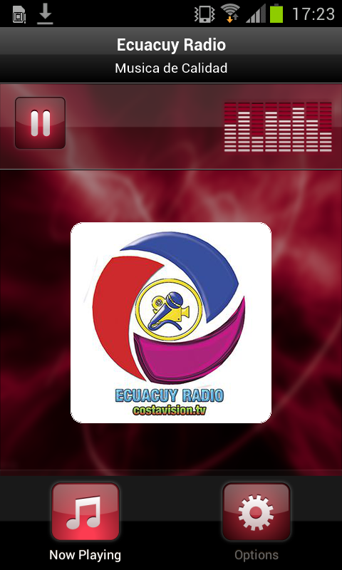 Ecuacuy Radio- screenshot