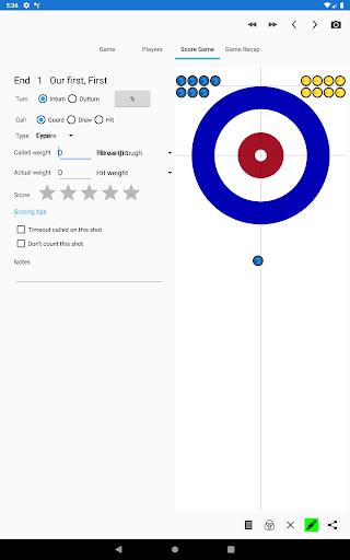 Curling Coach (Trial Version) 5.2.1 screenshots 9
