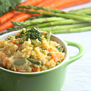 Easy Vegetable Risotto.