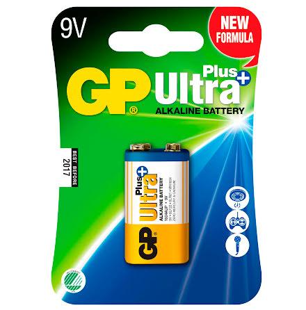 Batteri GP Ultra Plus 9V 1/fp