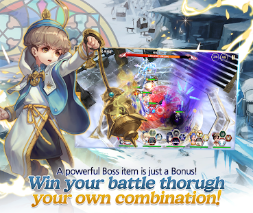 Miracle: Heroes of Dimension Screenshot