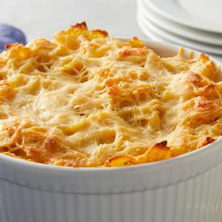 Parmesan-Shrimp Pasta Bake Recipe