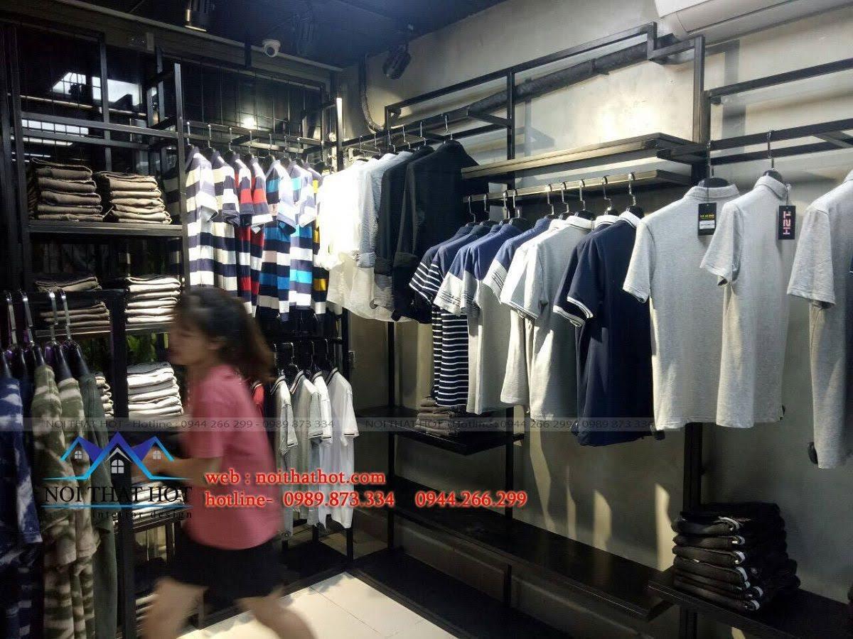 thiết kế shop thời trang nam H2T 24