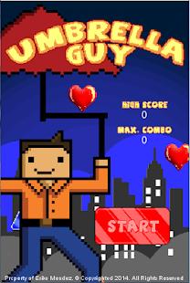 Umbrella Guy screenshot