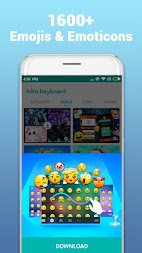 Kika Keyboard - Emoji Keyboard, Emoticon, GIF APK screenshot thumbnail 1