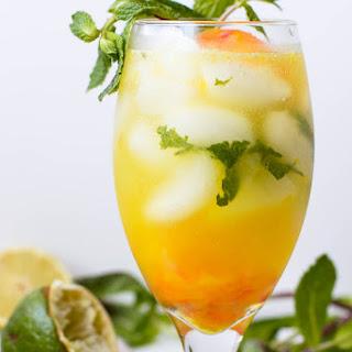 Orange Pomelo Turmeric Mojito