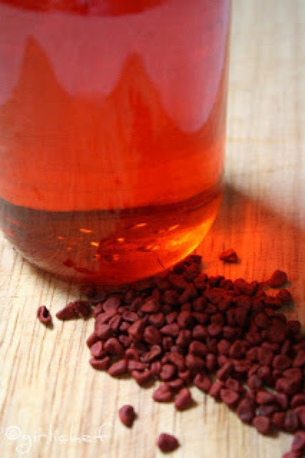 PREPARE ACHIOTE OIL:Heat olive oil and achiote seeds over medium heat for 5 minutes...
