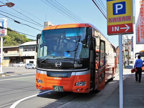 伊予鉄バス 八幡浜・三崎特急線 5251 車窓_02