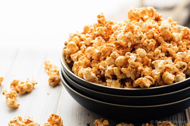 Easy Caramel Corn