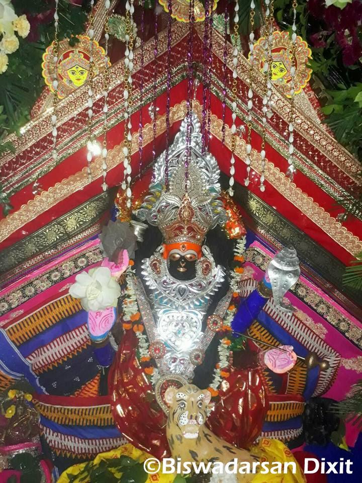 Jagadhatri Besha Of Maa Bhadrakali