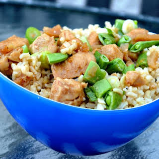Asian Chicken Brown Rice Bowl.