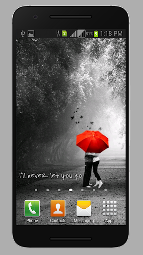Love HD Wallpapers Android app 1