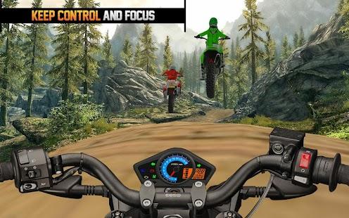 Terénní motokros jezdectví 3d - náhled