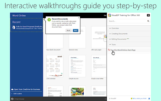 VisualSP Training for Office 365