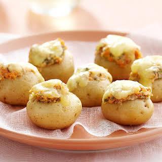 Mini Stuffed Potatoes.
