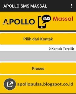 Apollo SMS Massal - Bulk SMS - náhled
