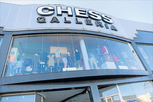 TARGETED: Chess Galleria in Vincent was robbed of 43 pairs of top-brand Italian jeans worth R90000 on Monday Picture: SIBONGILE NGALWA
