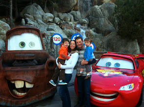 Photo: Family with Lightning and Mater