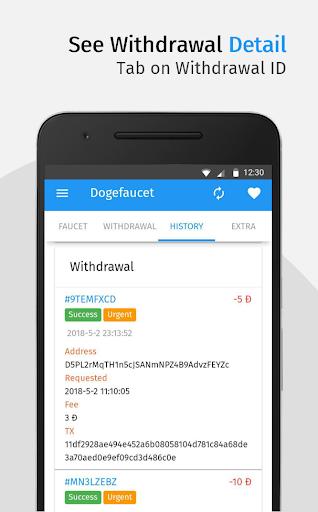 Dogefaucet: Free Dogecoin 3.3.1 screenshots 6