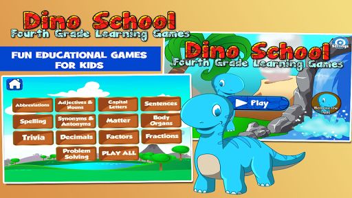 Dino Fourth Grade Learning