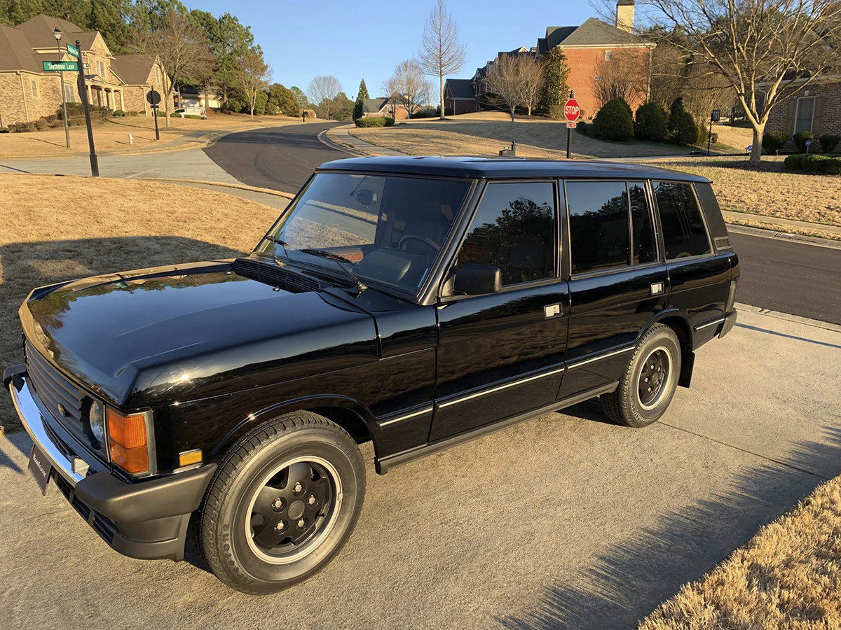 Land Rover Range Rover Classic Hire Fayetteville