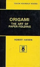 Photo: Origami The Art of Paper Folding Teach Yourself Books Harbin, Robert English Universities Press 1972 hardback 186 pp ISBN 0340565276 (original)