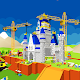 Castle Construction Building Game Crane and Loader