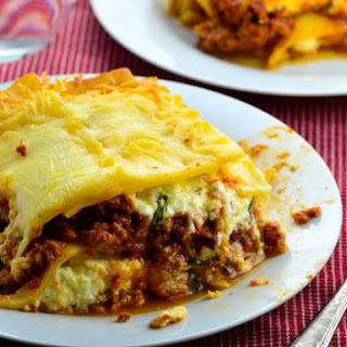 Absolute Best Ever Lasagna.