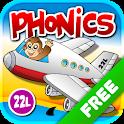 Phonics Island - Letter Sounds Game &Alphabet Lite icon