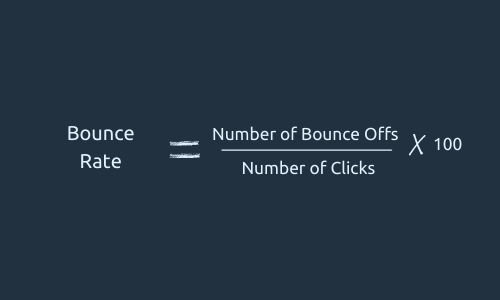 Formula for Bounce Rate