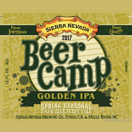 Logo of Sierra Nevada Beer Camp Golden IPA