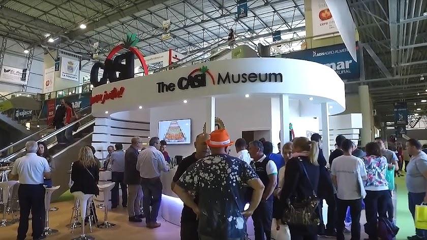 Stand de la empresa CASI en la pasada feria Infoagro Exhibition.