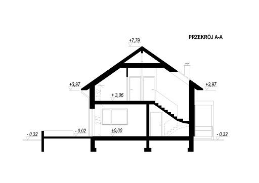 LIM House 06 - Przekrój