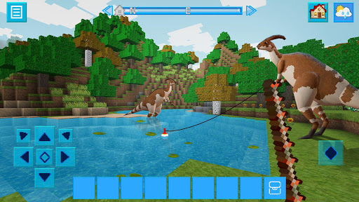 DinoCraft Survive & Craft Pocket Edition  screenshots 14