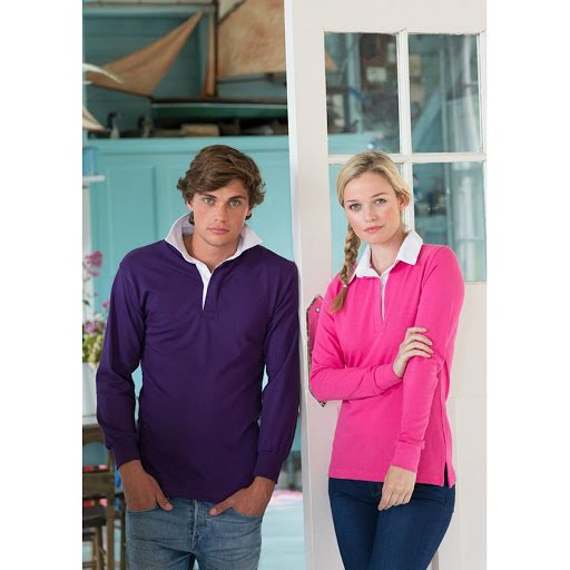 Front Row Plain Rugby Shirt