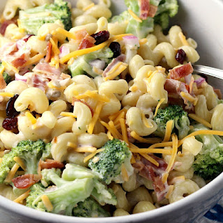 Easy Broccoli Pasta Salad.