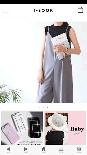 レディースファッション通販i-SOOK アイスー)公式アプリ