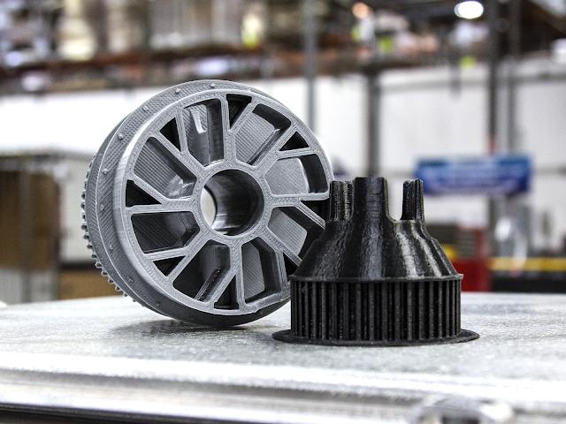 Black PRO Series Nylon Filament - 1.75mm (0.75kg)