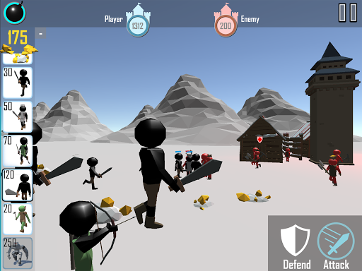Stickman: Legacy of War 3D 1.06 screenshots 9
