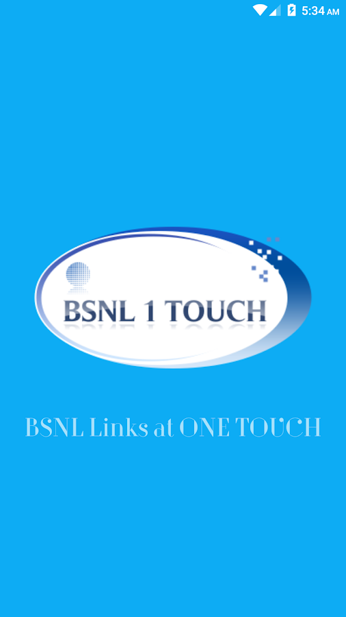 BSNL 1 Touch- screenshot